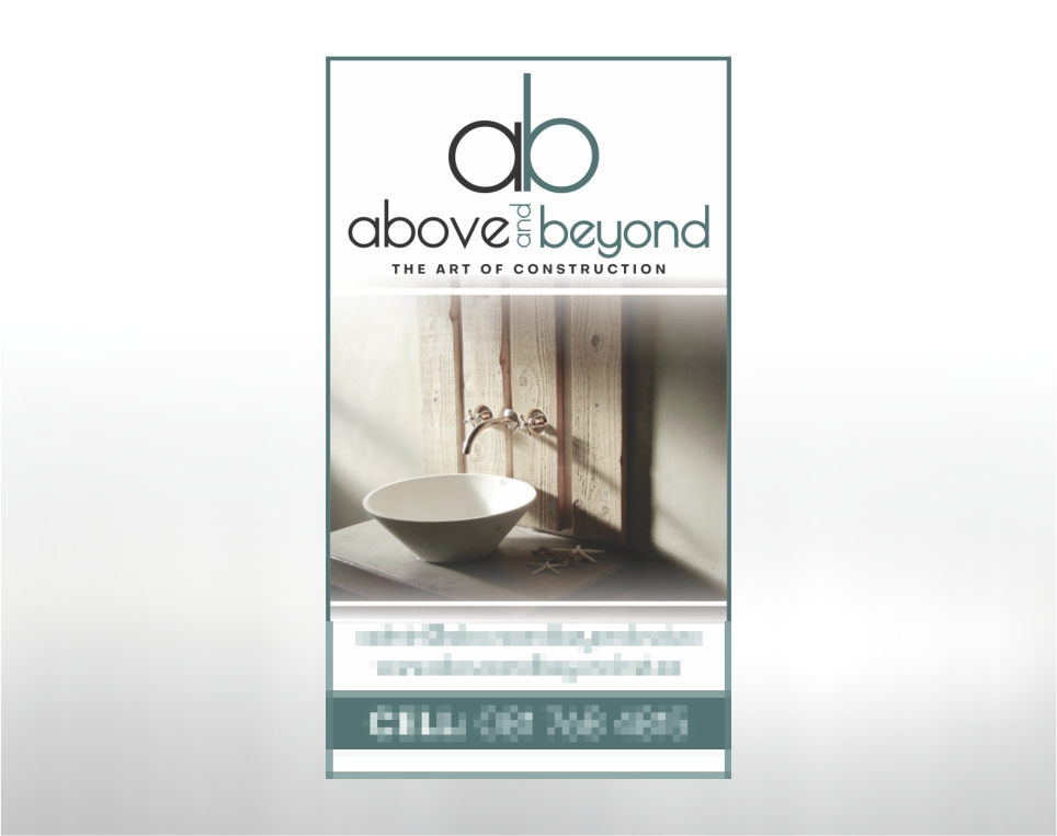 Above and Beyond – Business Card
