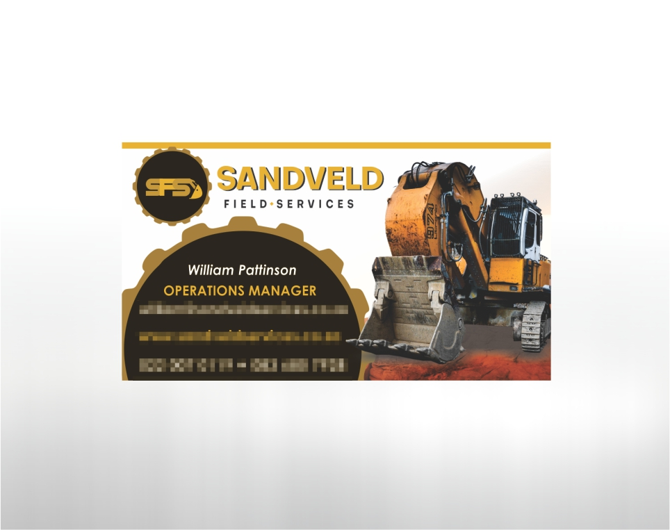 Sandveld Field Services – Business Card