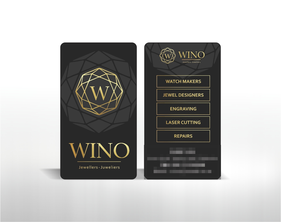 Wino Jewellers – Business Cards