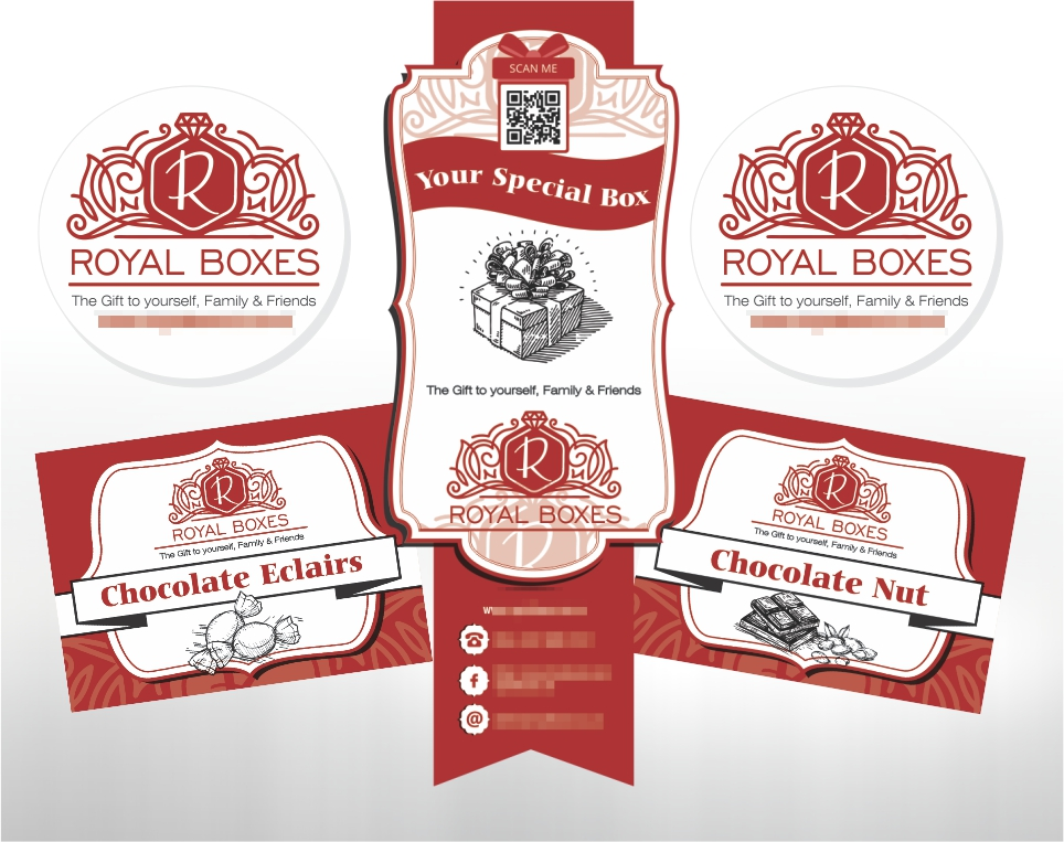 Royal Boxes – Product Labels