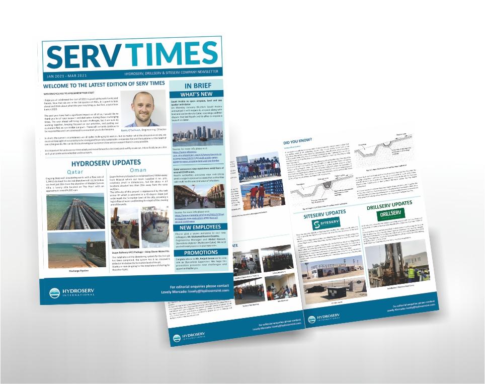 ServTimes – Newsletter